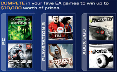 EA: PC, PS3, XBOX 360 Games!