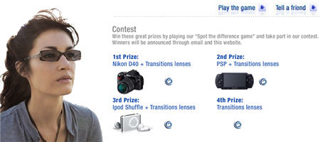 "Play ""Spot the Difference Game"" and Win Nikon, PSP, iPod"