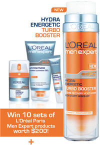 Win 10 Sets of L'ORÉAL Paris Men Expert products Worth $200!