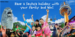 Have A Sentosa Holiday with Your Family and Win!