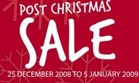 The Body Shop: 2008 Post Christmas Sale (up to 50%)