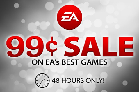 EA's 48 Hour 99 cents sale on 14 popular iPhone games!