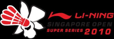 Li Ning Singapore Open 2010: 15-20 June