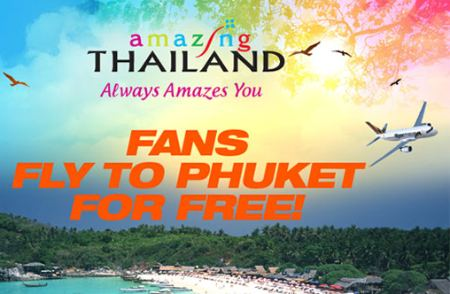 Win a trip for 2 to Phuket [until 5 Dec 2010]