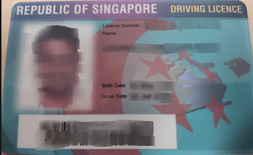 Singapore Driving License