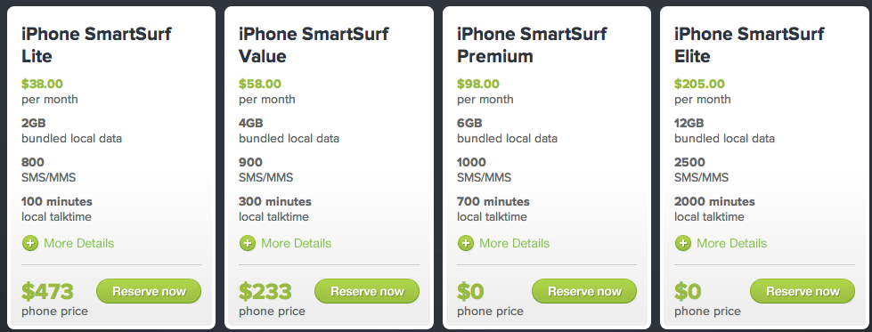 Starhub iPhone 5 Price Plan